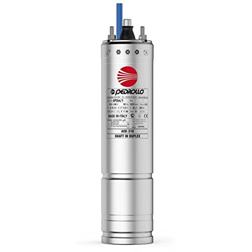 "4"" submersible Borehole Rewindable Oil Motor 4PDm/1 1Hp 240V Pedrollo"