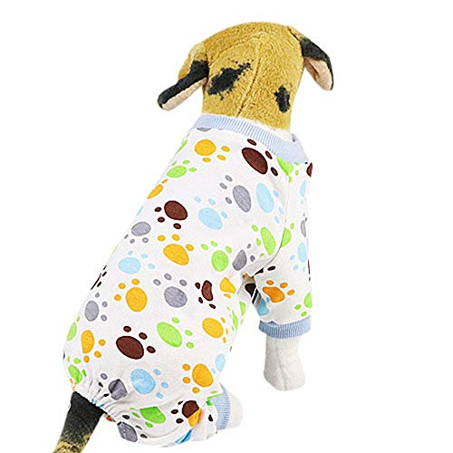Gogoodgo Pet Dog Shirts Breathable Soft Summer Vest Cute Cool Vest for Puppy Dogs Sweatshirt