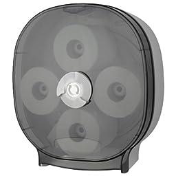 Four Roll Standard Toilet Tissue Carousel Dispenser