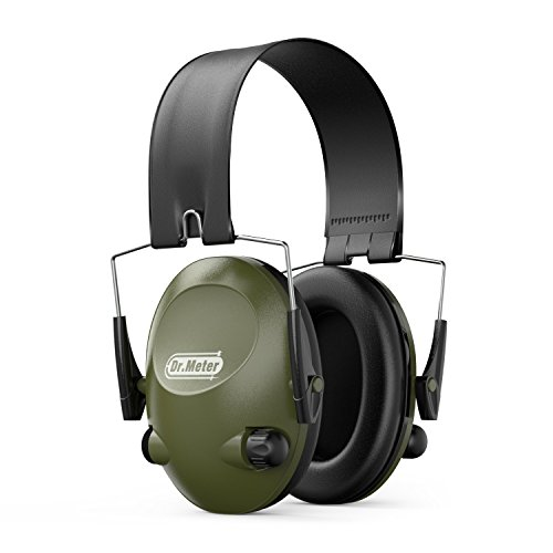 Drmeter-EM200-Hearing-Protection-Earmuffs-Safety-Earmuffs-with-Noise-Blocking-Sound-Amplification-Electronic-Earmuffs-for-Shooting-and-Hunting
