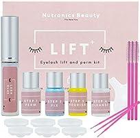 Nutronics Beauty Lash Lift Kit - Premium Home Lash Lift Kit, Eyelash Lifting & Perming, All In One Lash Lifting & Curling...