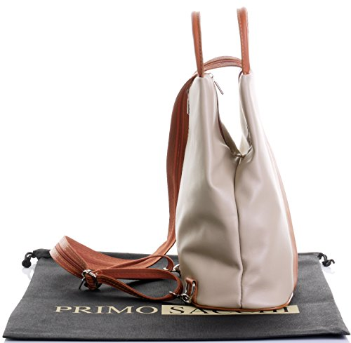 dos à bandoulière Beige protecteur supérieure Italienne sac poignée sac étui sac dos Tan cuir amp; nbsp;Comprend Napa douce marque à à wqqUfOzx