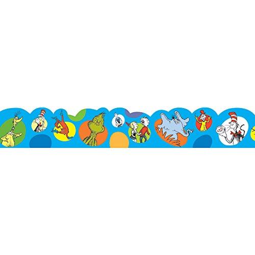 Eureka Dr. Seuss Bubble Board Trim and Classroom Decoration for Teachers, 12pc, 3.25'' W x 37'' -