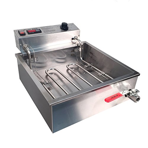Paragon ParaFryer Funnel Cake Fryer Machine for Professional Concessionaires Requiring Commercial Quality & Construction 25 Pound Oil Capacity 4400 Watts Electric 220 Volt Requires 6-20 Receptacle
