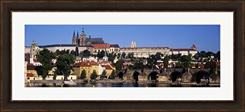 Bridge over the Vltava River, Prague, Czech Republic by Panoramic