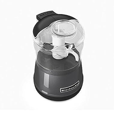 KitchenAid KFC3511QG 3.5-Cup Food Chopper - Liquid Graphite