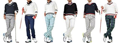 【コモンゴルフ】 COMON GOLF チルデン Vネック ゴルフ コットン セーター CG-ST547