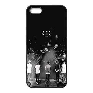 One Direction Custom Cover Case with Hard Shell Protection for Iphone 5,5S Case lxa#293437