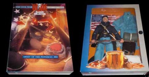 G.I. Joe Civil War Army of Potomac Action Figure - - Collection Potomac