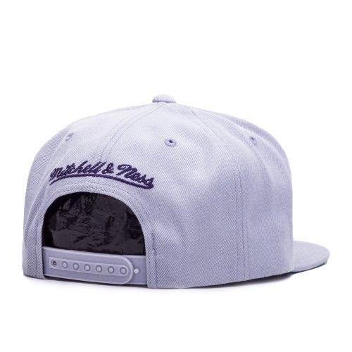 Mitchell & Ness Wool Solid Sacramento KingsSnapback Cap - one size - grau/lila