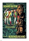 The Enchanted Tiki Room Adventureland Disneyland Attraction Poster Canvas The Art of Disney Theme Parks by Walt Disney Imagineering
