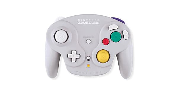GameCube - original Nintendo Controller / Pad Wavebird Wireless #grau + Empfänger: Amazon.es: Videojuegos