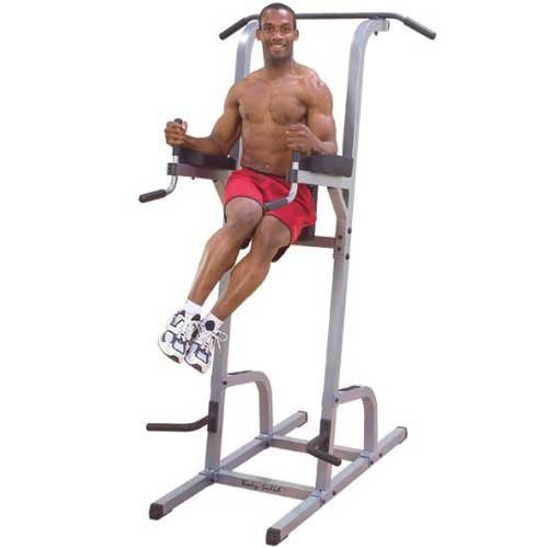Vertical Knee Raise Machine by Body-Solid