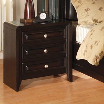 Winsor Nightstand in Espresso Finish by Furniture of America by Furniture of America