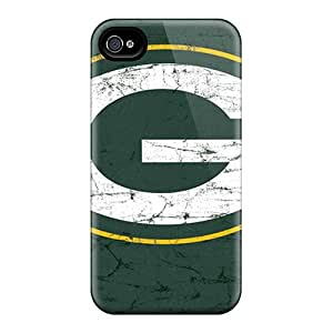 Awesome Design Green Bay Packers Hard Case Cover For Iphone 4/4s