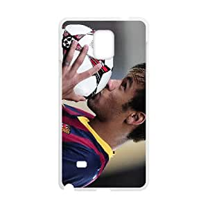 Neymar 013 Samsung Galaxy Note 4 Cell Phone Case White gift PJZ003-7508649