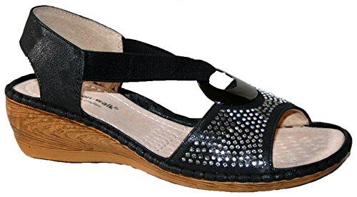 Cushion Walk - Zapatos con tacón mujer diamante negro