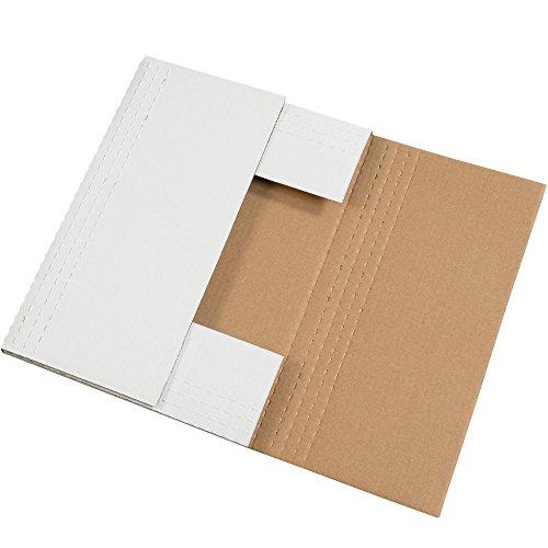 BOX USA BM24182BF 24'' L x 18'' W x 2'' H, White (Pack of 50) by BOX USA