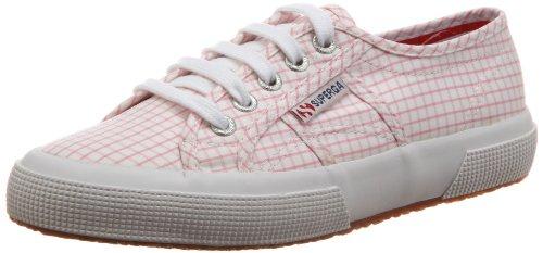 Superga 2750 Cotushirt S003i10, Unisexe - Rose Sneaker Adulte (a67 Blanc-rose)