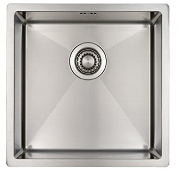 kitchen sink mizzo design onesingle bowl square stainless steel kitchen sink for - Kitchen Sink Uk