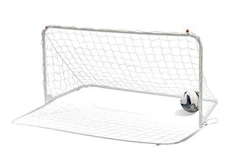 Mitre A3050 Easy Fold Football Goal, White, 6x3