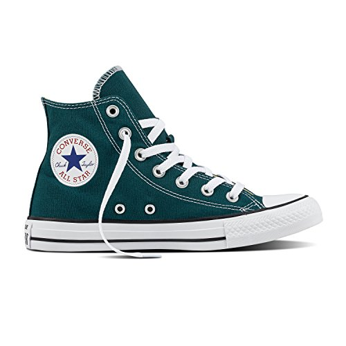 Converse - Adult Chuck Taylor All Star Hi Top Shoes, Size: 5 D(M) US Mens / 7 B(M) US Womens, Color: Dark Atomic Teal