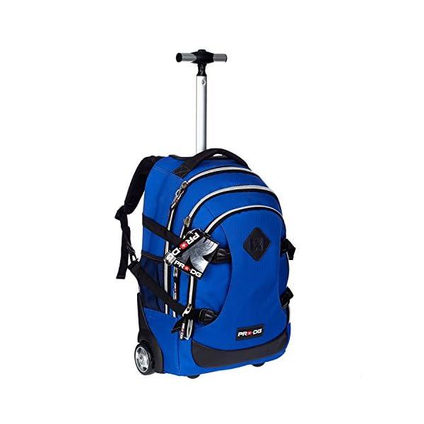 f9ec7c3f31 Pro-Dg 54389 – Zaino Trolley Scuola Blu Cobalto – TravelKit