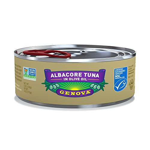 - Genova Albacore Tuna in Olive Oil, 5 Ounce (Pack of 12)