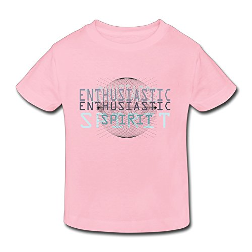 [Cotton Cute Toddler Girl's Boy's Tshirts Enthusiastic Spirt] (Spirt Halloween)