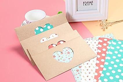 oficina funcoo 240/Lovely Cute sobre etiqueta sello adhesivo decorativo /álbumes de recortes Craft adhesivo para el hogar dise/ño de boda Hand Made