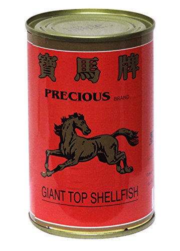 寶馬海皇玉鮑 Precious Giant Top Wild Shellfish abalone in Brine (2 pcs in a Can) 16oz