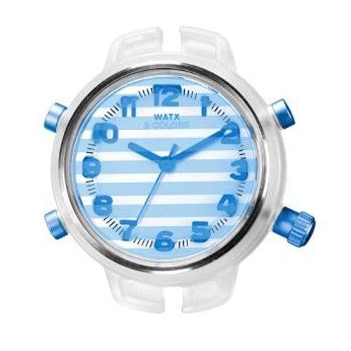Reloj Watx Gloss & Stripes Rwa1560 Mujer Azul
