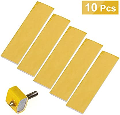 5X 3mm Thick  3D Printer Heating Block Cotton Hotend Nozzle*Heat Insulation new