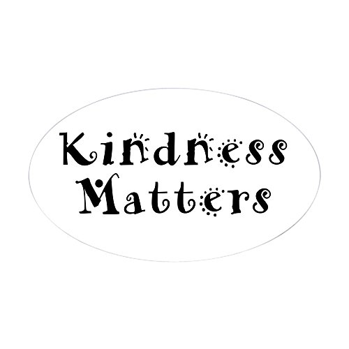 CafePress KINDNESS MATTERS Sticker Bumper