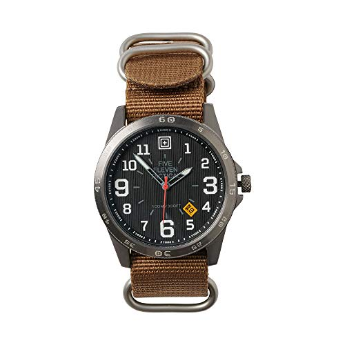 5.11 Men's Field Water Resistant Military Tactical Watch, Style 50513, Kangaroo ()