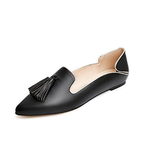Asakuchi señaló zapatos de borlas en primavera/zapatos de ocio Coreano/zapatos de las mujeres A