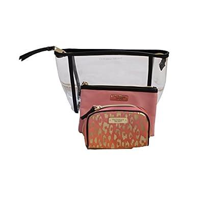 0547bc054e4a 50%OFF Victoria's Secret Travel Trio Makeup Cosmetic Bag Set of 3 ...