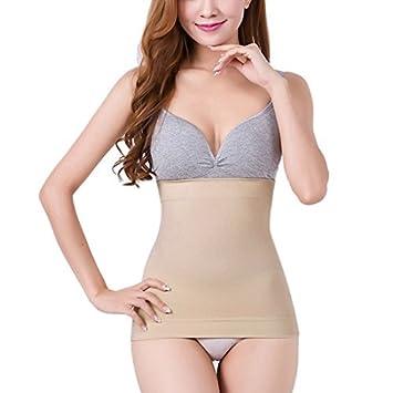 eDealMax Couleur de peau Spandex élastique Taille Haute Underbust Body  Corset Shaper Shapewear Pour les Femmes 8e9914416a8