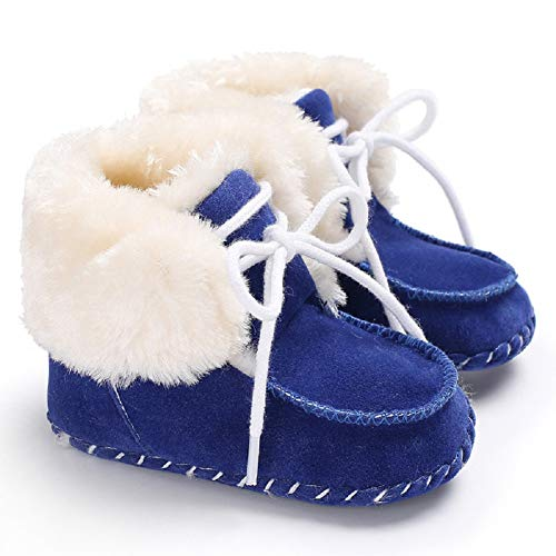 Pictures of Fnnetiana Newborn Baby Warm Winter Snow Boots 5