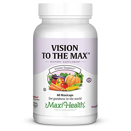 Maxi Vision to The Max Complete Vision Support Capsules, 60 Count -