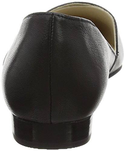 Hush Puppies Ladies Jovanna Phoebe Ballerine, Nero Nero (nero)