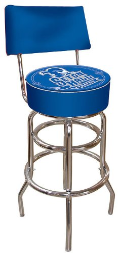 NCAA Seton Hall University Padded Swivel Bar Stool with Back by Trademark Gameroom