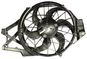 TYC 620460 Ford Mustang Replacement Radiator/Condenser Cooling Fan Assembly ()