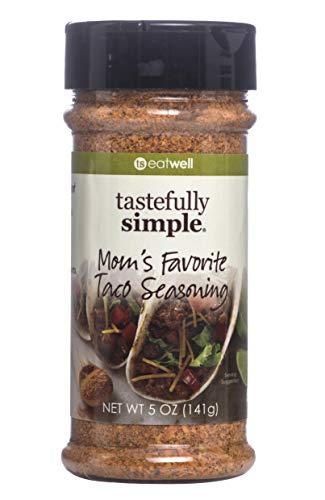 Tastefully Simple Mom's Favorite Taco - Seasoning Dip Taco