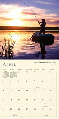 Lure of Fishing 2016 Wall Calendar