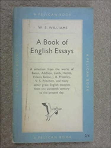 A Book Of English Essays W E Williams Comp Amazoncom Books A Book Of English Essays Hardcover