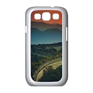 the Great Wall at Sunset Samsung Galaxy S3 Cases, Samsung Galaxy S3 Case Cute Funny Okaycosama - White
