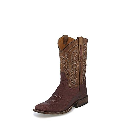 Tony Lama Goliad Cognac 11 Altezza (tl5000) | Piede Marquilla In Alto | Stivali Western Pullon | Stivale Marrone In Pelle Da Cowboy