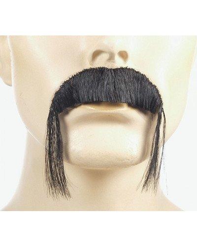 [Fu Manchu Discount Synthetic Handmade Mustache - Grey] (Fu Manchu Costumes)