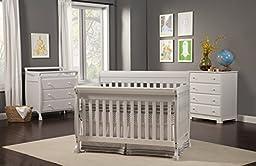 DaVinci Kalani 4 -Drawer Dresser - White